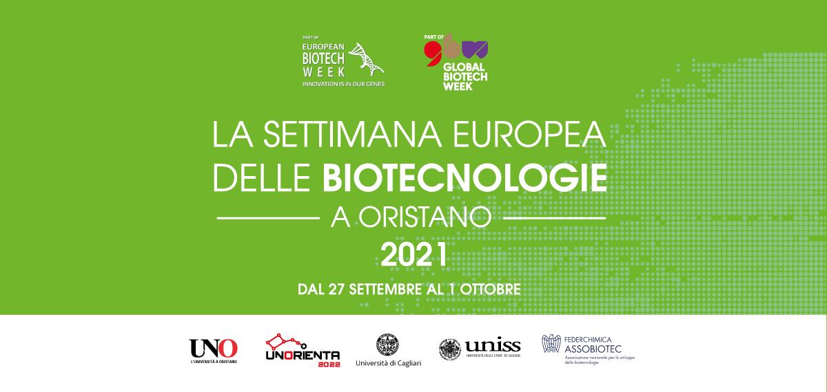 La settimana europea delle Biotecnologie 2021 a Oristano